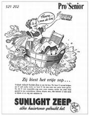 Advertenties van toen