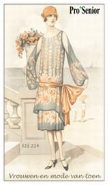 Vrouwen en mode van toen