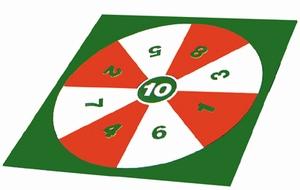 Vloer-dart-spel