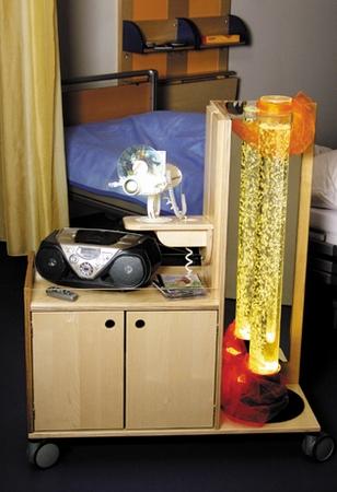 Projector-trolley compact en compleet