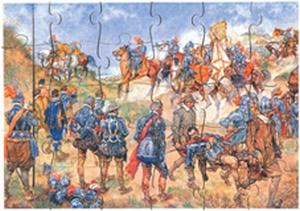 A3 Schoolplaatpuzzel Slag bij Nieuwpoort