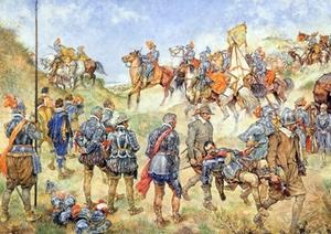 A3 Voorbeeldplaat sp Slag bij Nieuwpoort