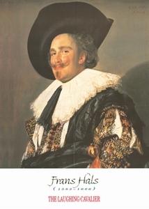 A3 voorbeeldplaat Frans Hals Lachende Cavalier
