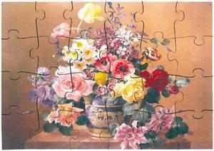 A3 puzzel Klassiek boeket