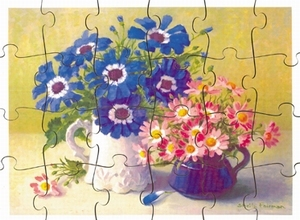 A3 puzzel Bloemenpracht