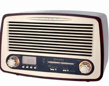 Radio in Retrostijl