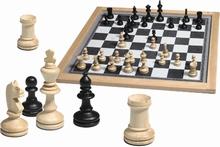 Magnetisch schaakspel