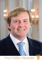 A3 voorbeeldplaat Willem-Alexander