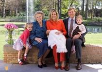 A3 voorbeeldplaat Koninklijke Familie