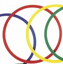 Platte gymnastiekhoepels 60