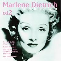 CD Marlene Dietrich Falling in Love cd2