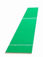 Mini koersbal- & Carpet Bowls speelmat 4x1 meter