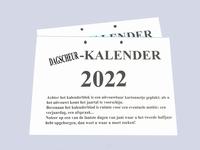 Dagscheur-kalender 2021