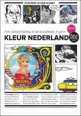 Kleurboek Kleur Nederland