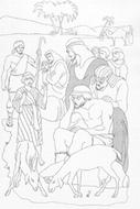 Kleurprenten Oude Testament