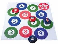 Kurling & Bowls cirkel-cijfermat