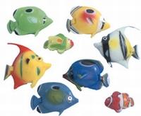 Visjes voor waterzuil