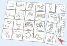 Set van 22 symbolen