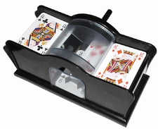 Kaarten-schud-machine