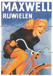 A4 Reclamepuzzels, serie 3