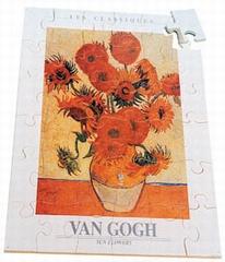 A3 puzzel Van Gogh´s 15 Zonnebloemen