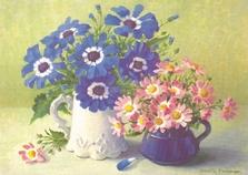 A3 Voorbeeldplaat Bloemenpracht