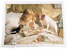 A3 puzzel Ontbijt op bed