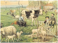 A4 Puzzels Het platteland, serie 3