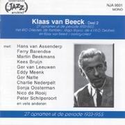 CD Klaas van Beeck