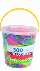300 ballonnen in emmer of box