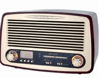Radio in Retrostijl