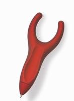 Penagain met antisliplaag, rood