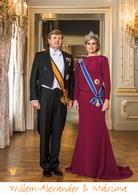 A3 voorbeeldplaat Willem-Alexander & Máxima