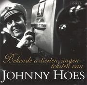 CD Johnny Hoes Bekende artiesten zingen