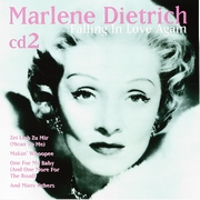CD Marlene Dietrich Falling in Love cd2